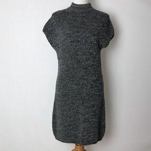 Athleta | Pinewood sweater dress marled gray S